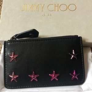 NWT Jimmy Choo Black Wallet
